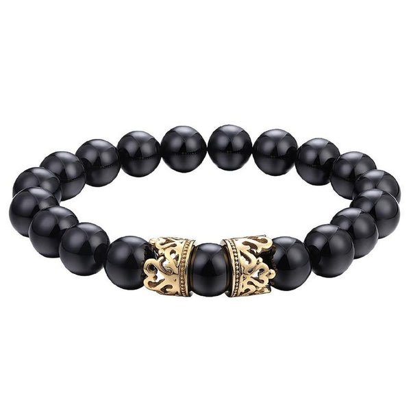 Mister Queen Bead Bracelet-Men - Jewelry - Bracelets-Mister LLC-The Luxury Upgrade