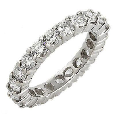 PMI 14W@4.3 21RD@2.87 (3mm) ETERNITY RING-Bands-Prime Mountings Inc.-The Luxury Upgrade