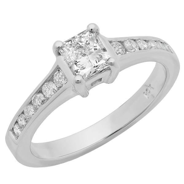 ring rings stone cut side engagement channel set princess