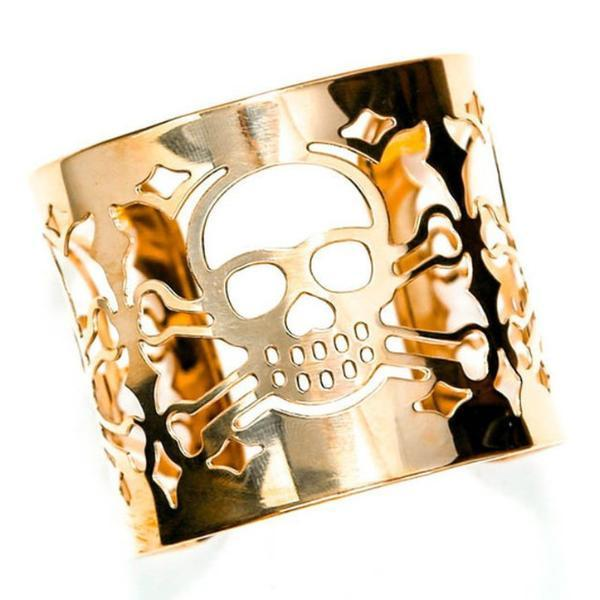 Skull Cuff-Women - Jewelry - Cuffs-BISJOUX-The Luxury Upgrade