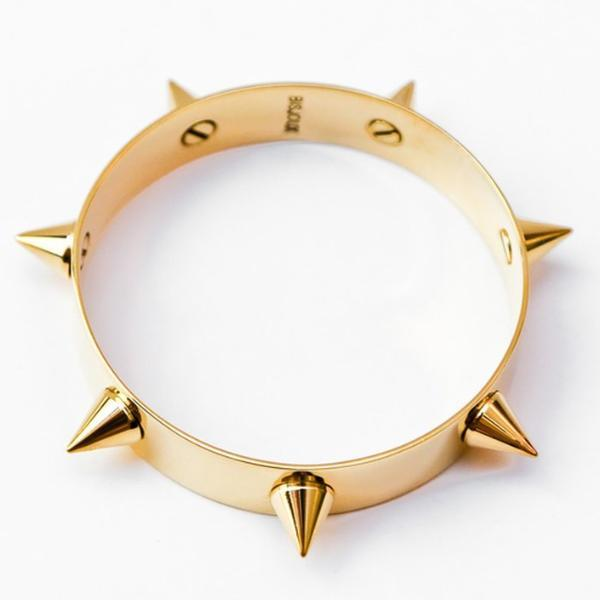 Spike Bangle-Women - Jewelry - Bracelets-BISJOUX-The Luxury Upgrade