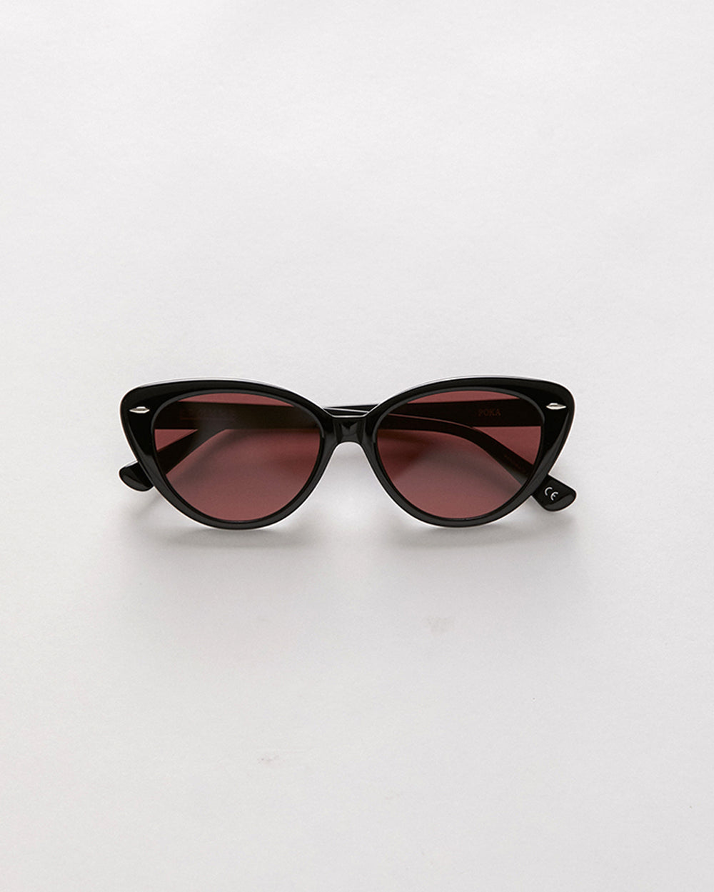 Poka - Black Polished / Rose