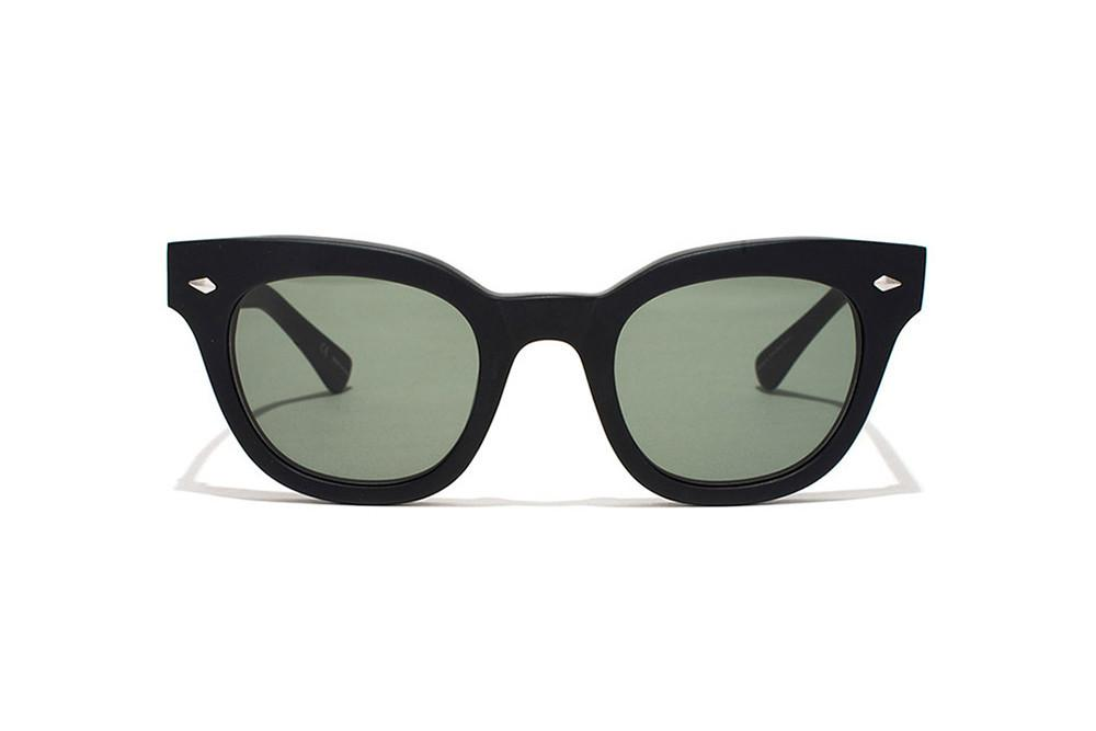 Dylan - Black Matte / Green