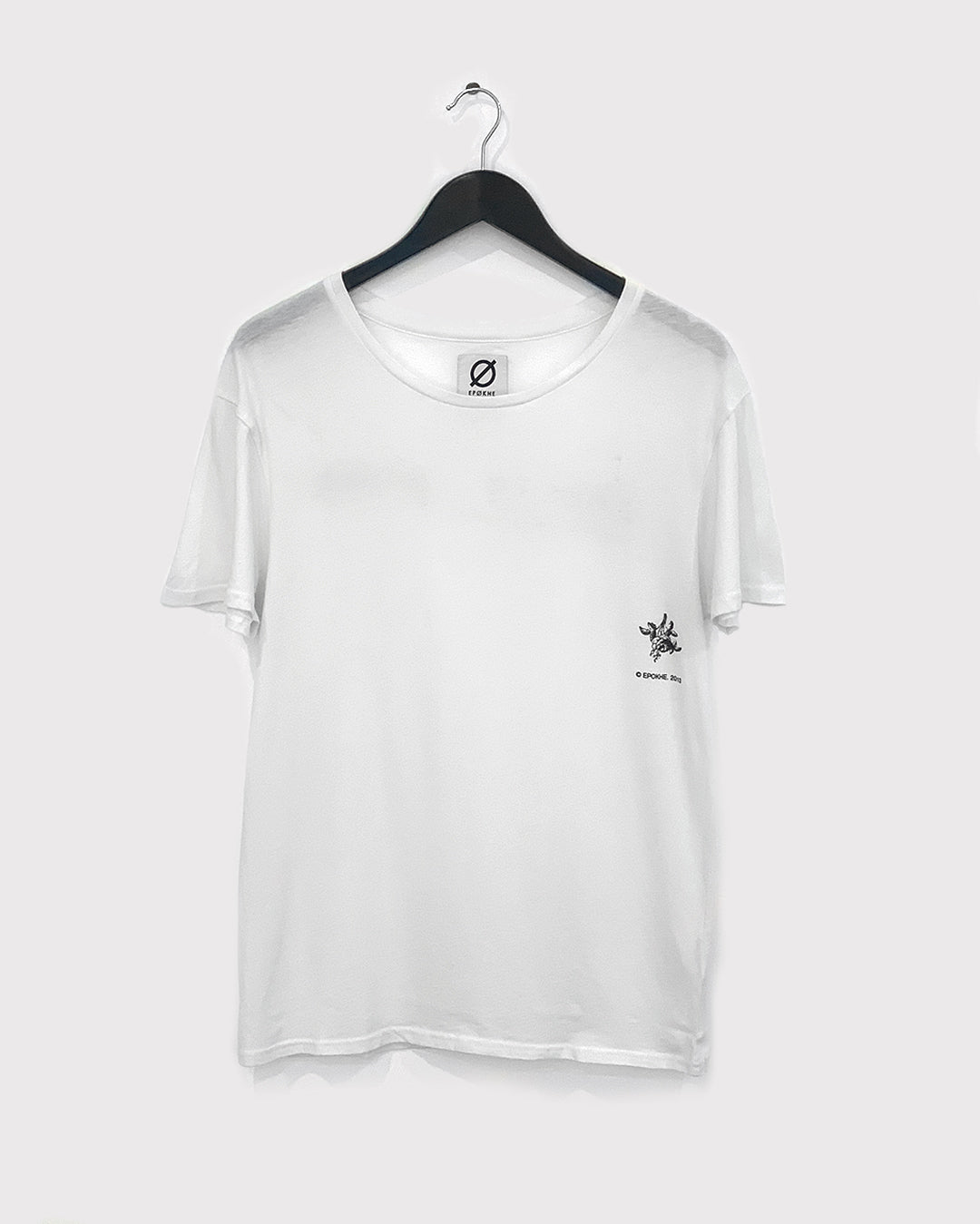 Beauty Pockets - Standard Fit Tee - White