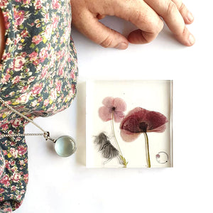 Botanical Resin: Hello Spring Short Course with Elle-Rose Dunn
