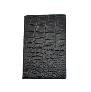 Convict Bags -  Chocolate Croc Look 'Aaron' Unisex Passport Wallet (cbag81)
