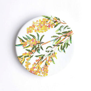Braw Paper Co. - Acacia Ceramic Coaster (tri002)