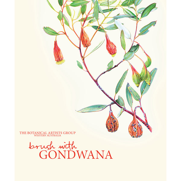 The Botanical Artists Group - 'Brush With Gondwana' Softcover Book  (m/fac67)