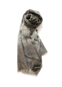 Chrisea Designs - 'Dragonfly' Wool/Silk Wrap (cde005)