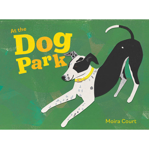 Moira Court - At the Dog Park Hardcover Children's Book (m/fac008)