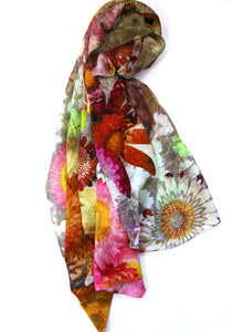 Chrisea Designs - 'Spring Fiesta' Cotton/Silk Wrap (cde009)