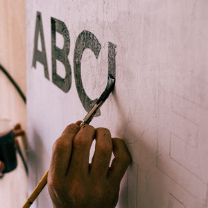 Intro to Sign Painting with Luke O'Donohoe
