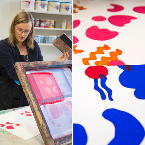 Introduction to Screen Printing with Monika Lukowska