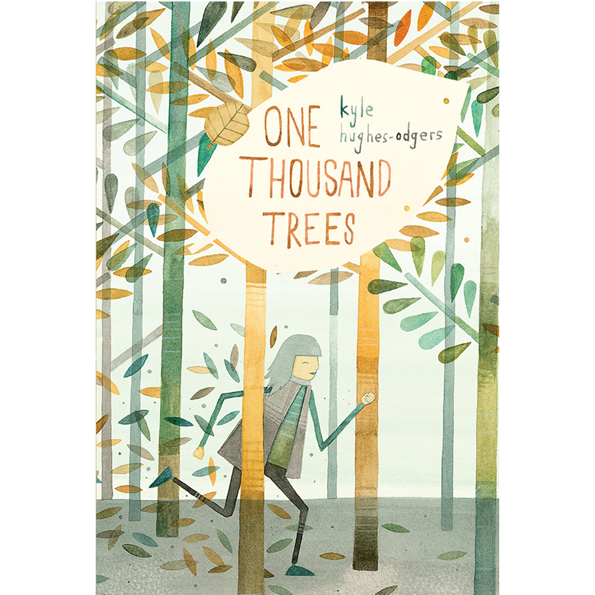 "Kyle Hughes- Odgers - ""One Thousand Trees"" Softcover Childrens Book (m/fac10)"