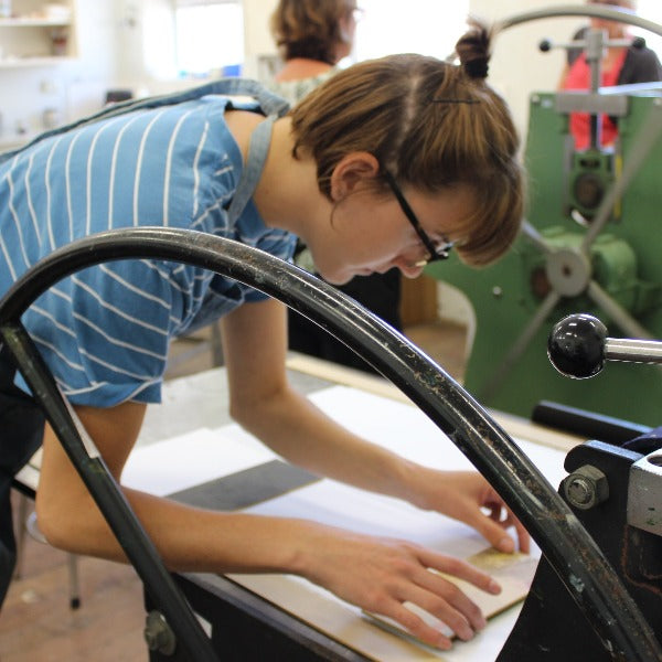 Intro to Printmaking with Bina Butcher