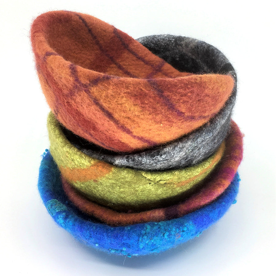 Felted Bowls, Platters and Dishes with Martien Van Zuilen