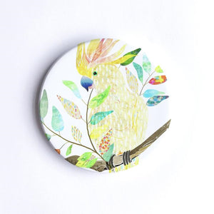 Braw Paper Co. - Sulphur Crested Cockatoo Ceramic Coaster (tri010)