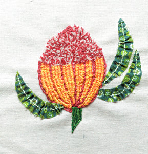 Wildflower Stitch Series: Banksia Brooches with Sultana Shamshi