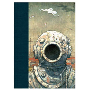 Shaun Tan - ' The Visitor' Blank Journal (m/nuo1)