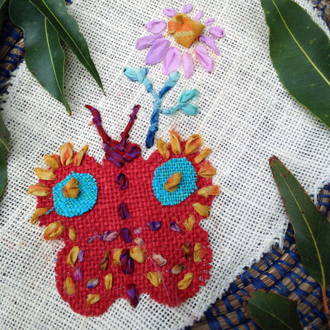Bats, Birds and Bees Textiles Workshop with Anne Williams and Cathy Levett