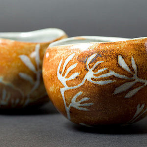 Sgraffito Snack Bowls with Bernard Kerr