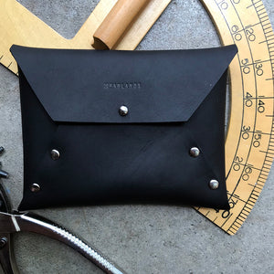 Hand-stitched Leather with Farlands