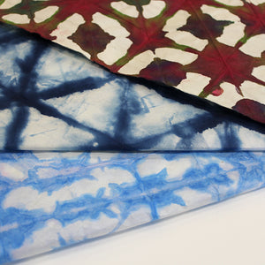 Orizome Paper Dyeing with Ingrid Mulder