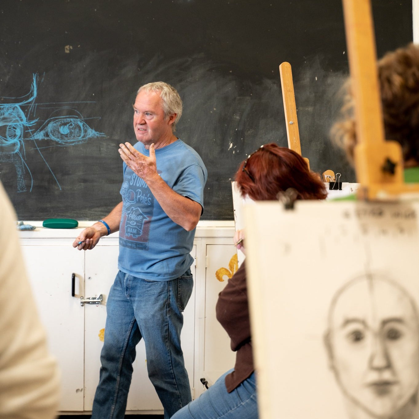 Drawing Portraits with Peter Dailey