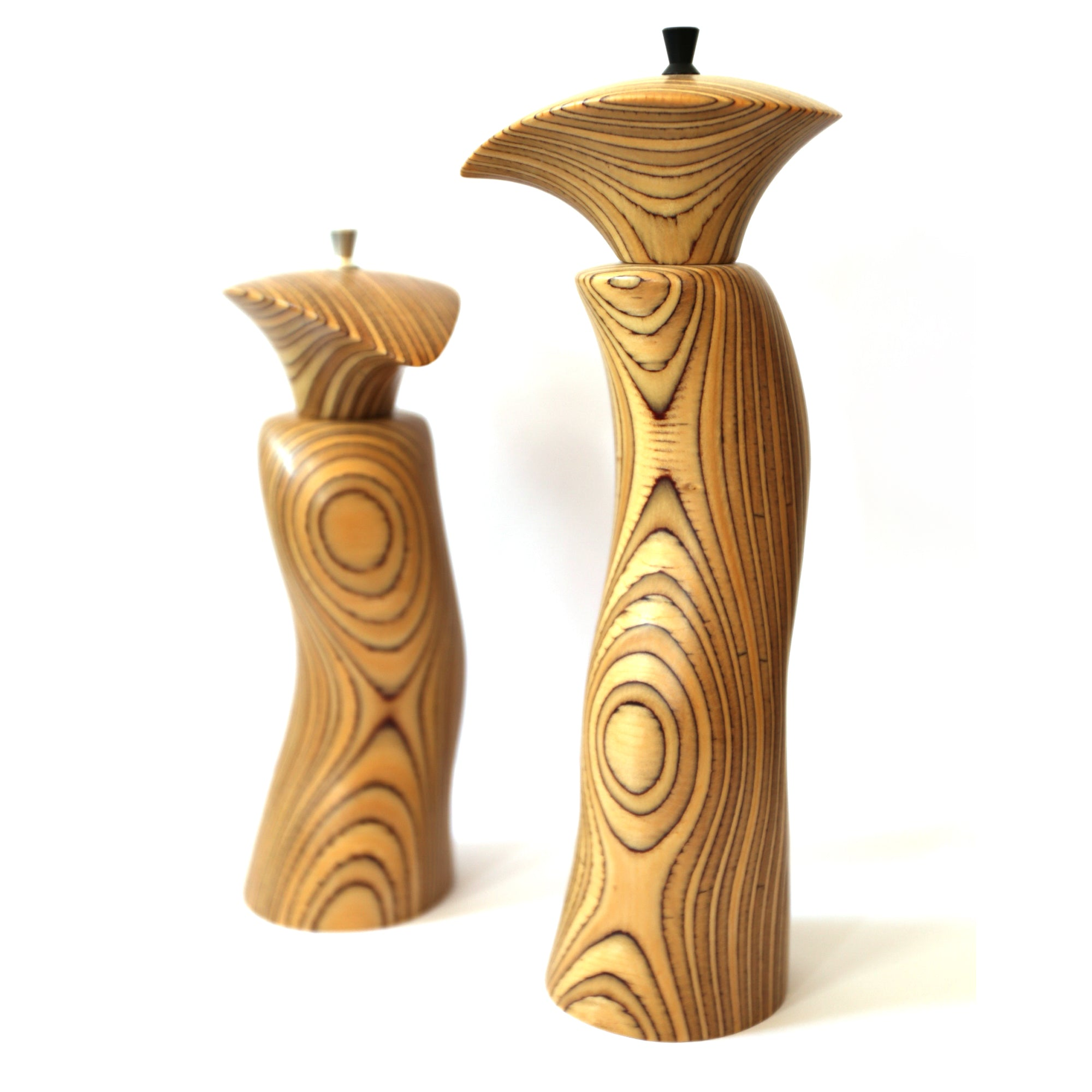 Chris Reid - Salt and Pepper Grinders in Marine Ply (cre009)
