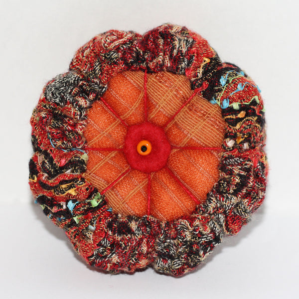 Katrina Virgona - Handfelted and Embroidered Pincushion's (kvi005)