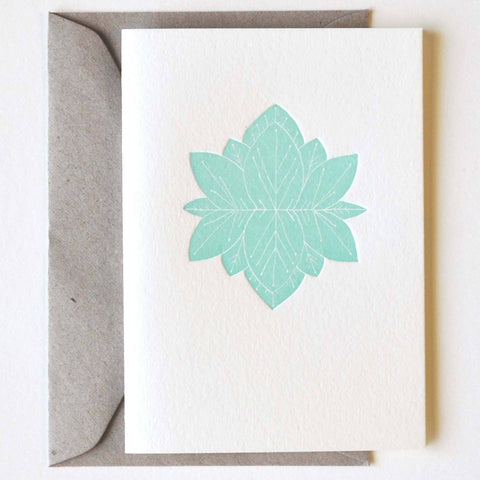 Emily Shingleton - Greeting Card - Lotus Flower (esh006)