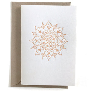 Emily Shingleton - Greeting Card - Mandala (esh009)