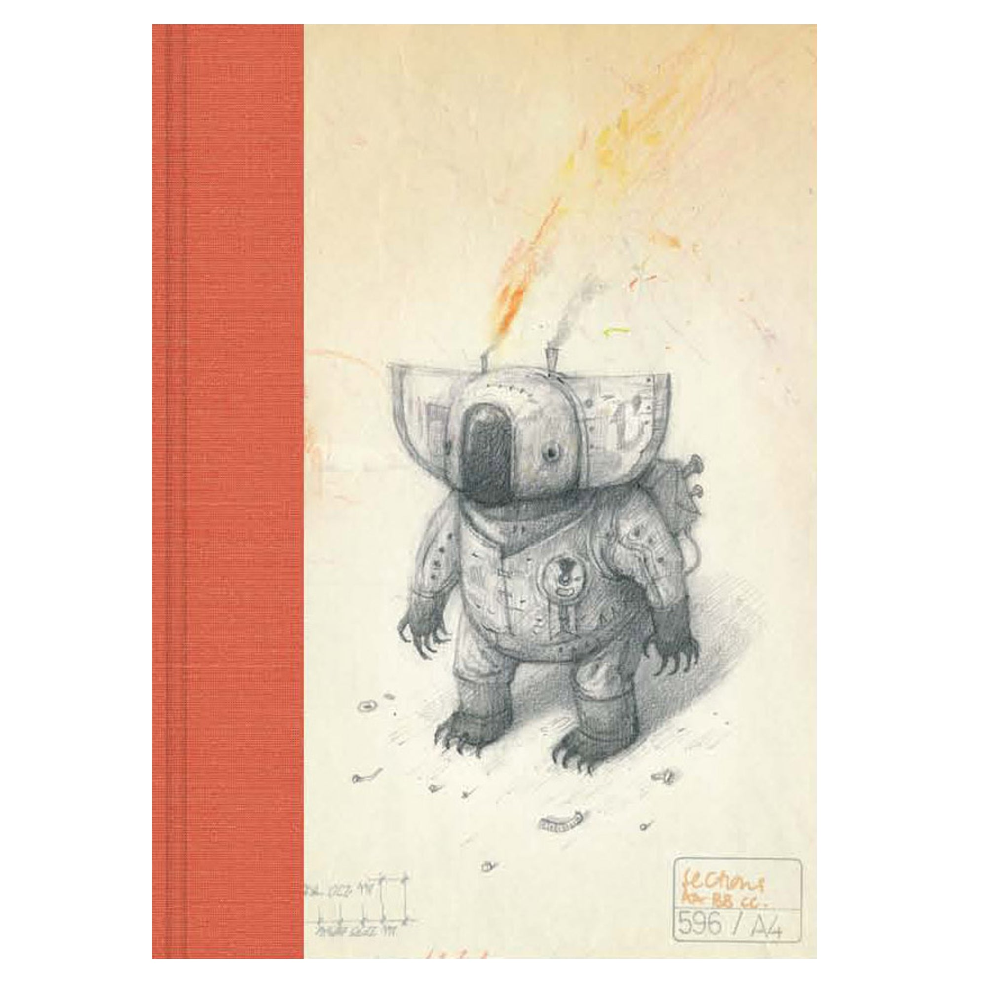 Shaun Tan - 'Parafin Oil Koala' Blank Journal (m/nuo5)