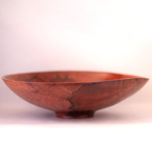 RL Wood Design - Feature Grain Peppermint Tree Timber Bowl (rla018)