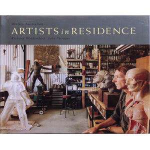 Richard Woldendorp - Artists in Residence Hardcover Book (rwo136)