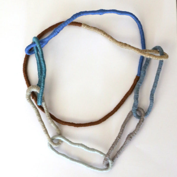 Sian Boucherd - Blues Wearable Necklace (sbo006)