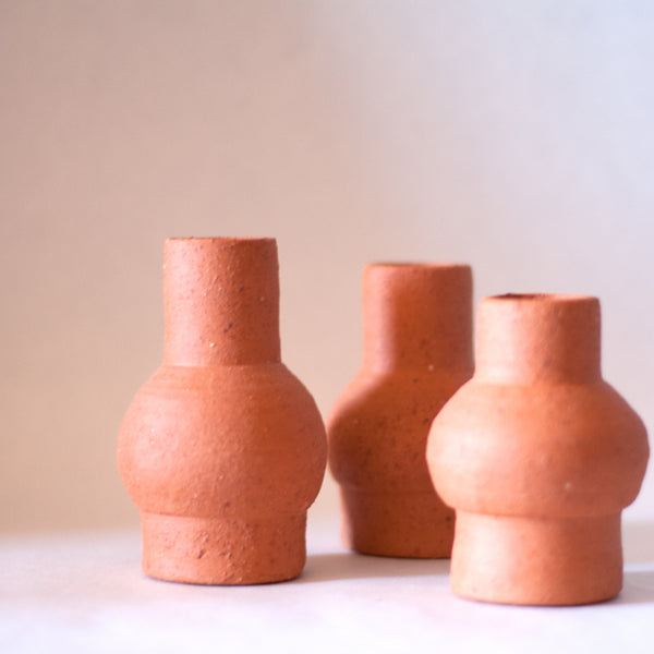 SO LE Ceramics - Small Terracotta Vase (sda001)