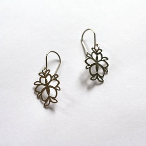 Susannah Kings-Lynne - Sterling Silver Small Drop Orchid Samurai (skl003)