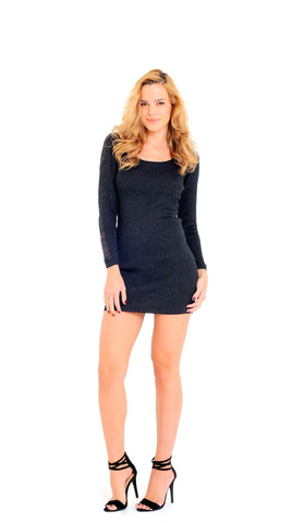 Sheath Dress with Back Cut-Out Detail