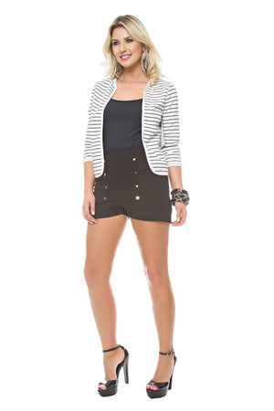 Striped Reversible Blazer