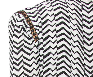 Zig Zag Flare Dress