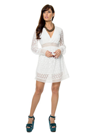 Flared Lace Dresss