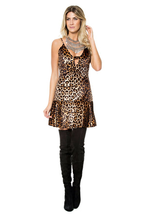 Leopard Flared Dress