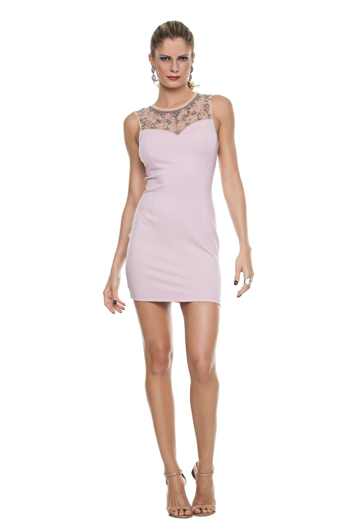 Jeweled Bodycon Dress