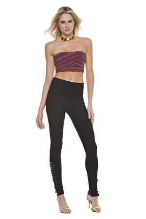 Lace-Up Bandage Leggings