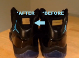 23 fix - GOLD Gamma Blue (4 units) - Best 23 Fix for Jordan 11 - 3