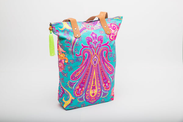 Turquoise Chakra ~ Tote Bag - Kate MacQueen