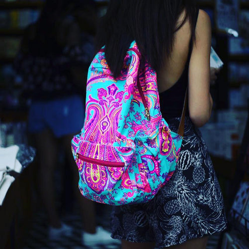 Turquoise Chakra ~ Big Backpack