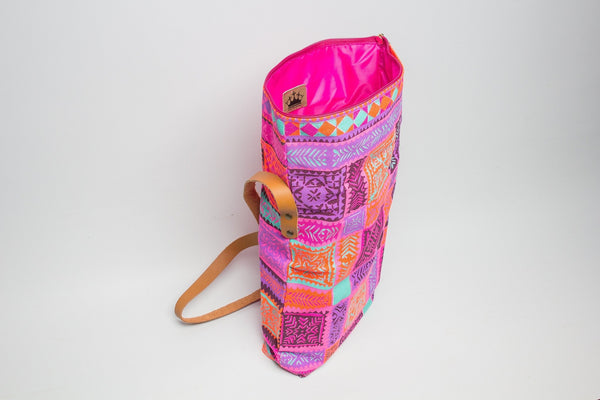 Purple Haze ~ Fold-over Bag