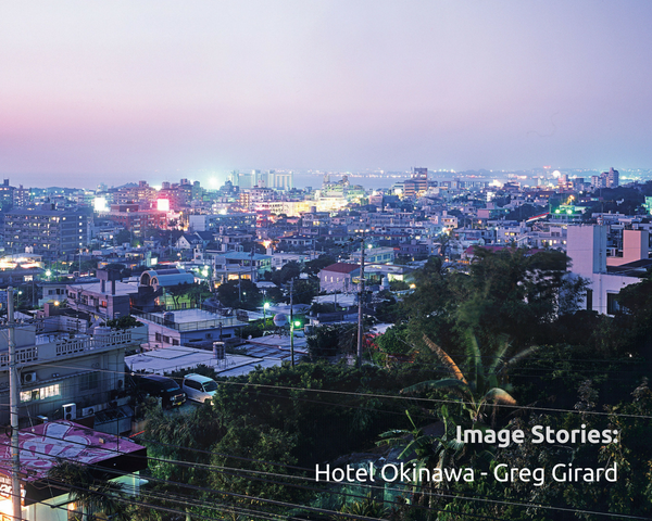 Greg Girard discusses his favourite images in Hotel Okinawa